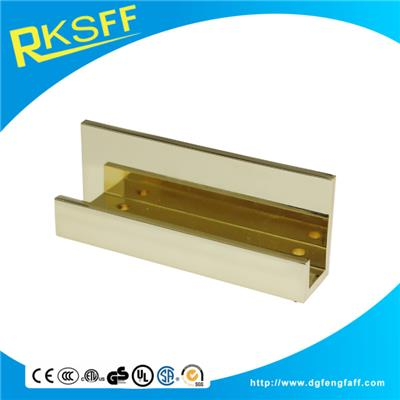 Zinc Alloy Gold Name Card Holder