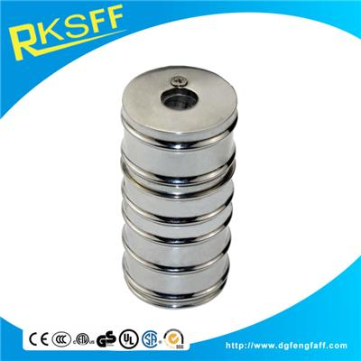 Zinc Alloy Chrome Round Pencil Sharpener