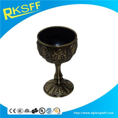 Zinc Alloy Bronze Slim-legged Kiddush Cups
