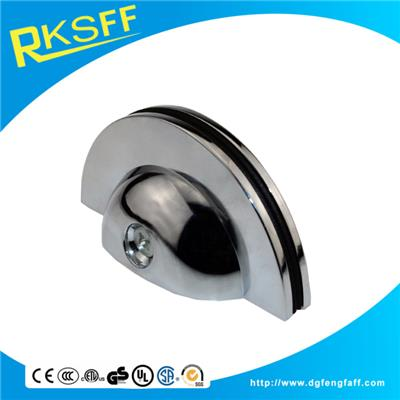 Zinc Alloy Half Round Shaped Glass Clamp