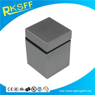 Zinc Alloy Square Glass Clamp