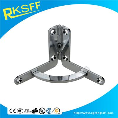 Zinc Alloy Chrome Plating Arc Hinge