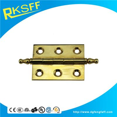 Zinc Alloy Gold Plating Square Hinge