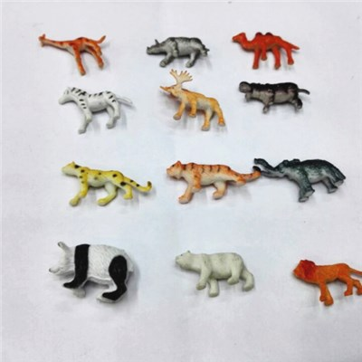 Small Qualified Plastic Toys Forest Animals