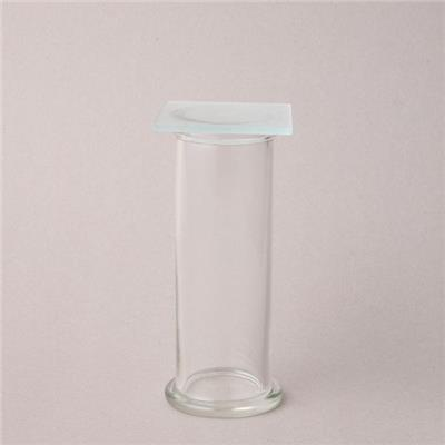 Glass Gas Collecting Cylinder
