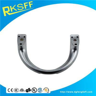 Aluminium Alloy Silver Door Handle