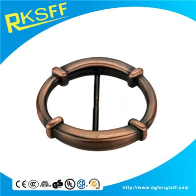 Zinc Alloy Round Belt Buckle