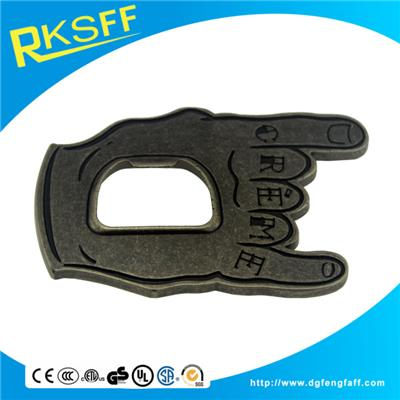 Zinc Alloy Finger Belt Buckle