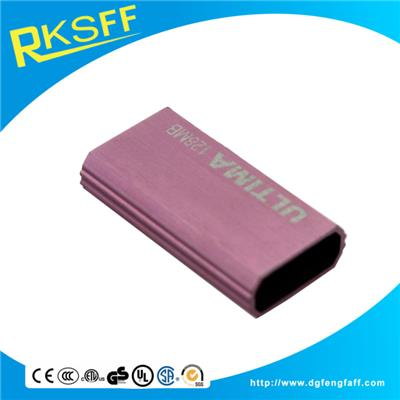 Aluminium Alloy Pink Square USB Shell