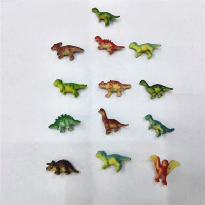 Wild Animals Carnivores And Herbivore Mini Solid Pvc Toys Dinosaur