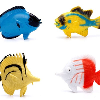 2.5Inch Plastic Animal Capsule Toy Tropical Fish