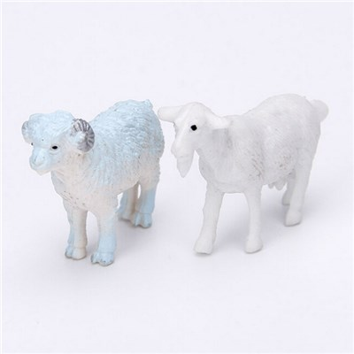 Hot Sell PVC Plastic Sheep Capsule Toy