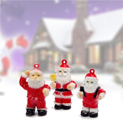 Popular With The Children Mini Santa Claus Capsule Toy For Christmas