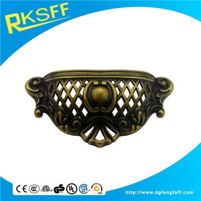Zinc Alloy Bronze Drawer Door Handle