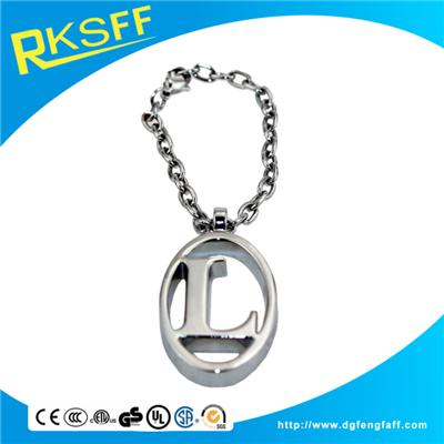 Zinc Alloy Letter L Hanging Ornament