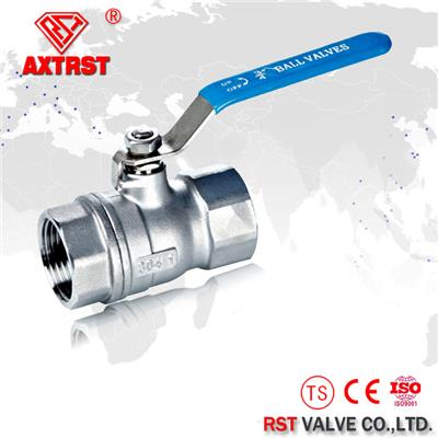 2PC Stainless Steel Economic Type Floating 304/316/316L Ball Valve 1000WOG