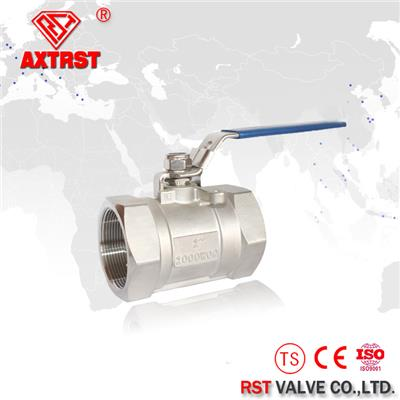 1PC 1000WOG/2000WOG Stainless Steel Floating Thread Ball Valve