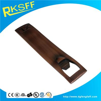 Zinc Alloy Copper Bottle Opener