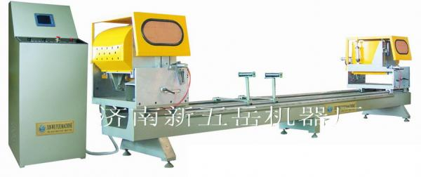 Precision Double-head Cutting Saw with CNC for Aluminum Profile