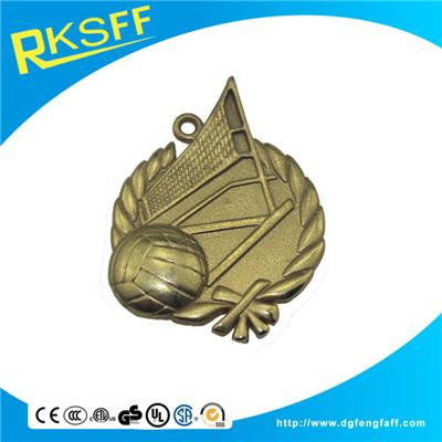 Zinc Alloy Volleyball Gold Medals