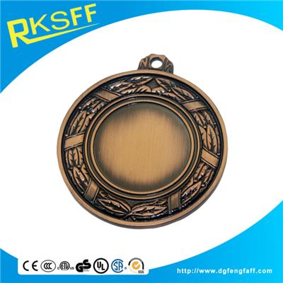Zinc Alloy Plain Copper Medals