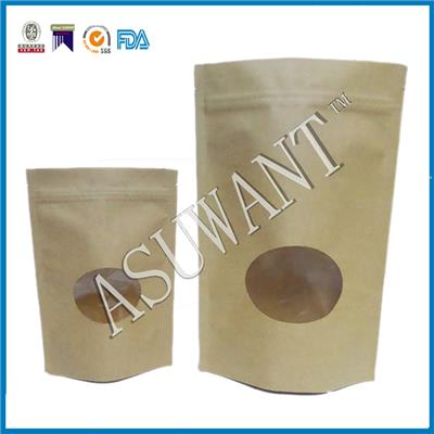 Hot Sale Kraft Paper Bag With Window