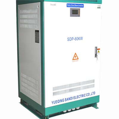 5KW-60KW 3 Phase Pure Sine Wave Off Grid Solar Inverter factory