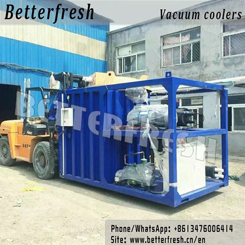 Manufacturer Betterfresh supplys Vacuum Cooling Farm Cooling Vegetable Cooling Vacuum Cooler for rapid Cooling and quality Vegetables & Food