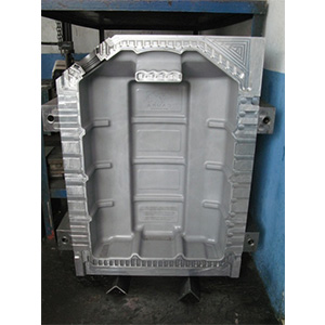 Plastic Fuel Tank Injection Mold for Auto