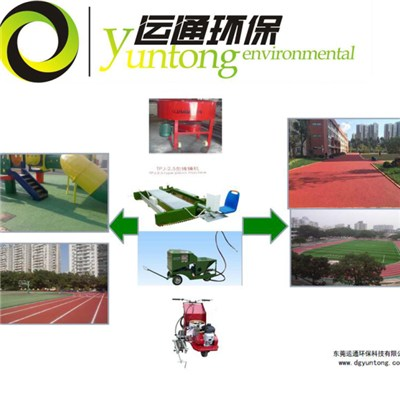Running Track And Playground Construction Machinery