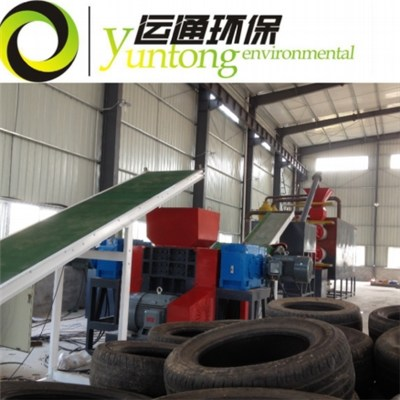 Small Continious Automatic Tire Pyrolysis Plant YT-15