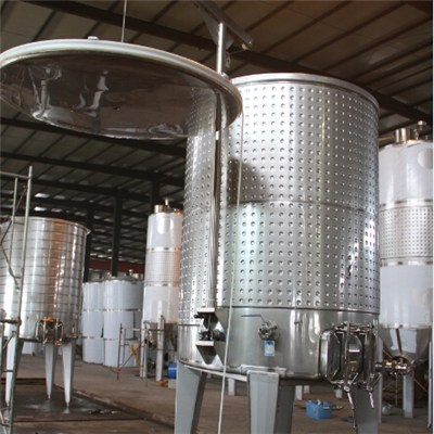 Variable Capacity Fermentation Tank