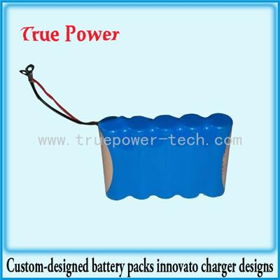 3.7V 7800mAh 18650 Li-ion Battery Packs