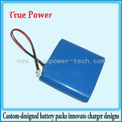 3.7V 6600mAh 18650 Li-ion Battery Packs