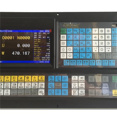 3 Axis Lathe/Turning Controller With PLC--ECN3000TL