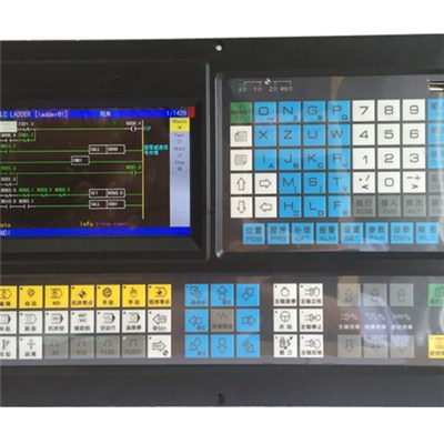 5 Axis Milling/drilling Controller With PLC--ECN5000TM