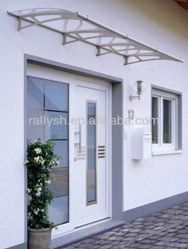 Fashionable Rain Used Awnings With Clear Acrylic Sheet
