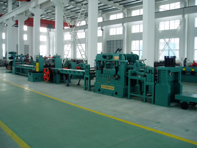 Slitting and cut-to-length line