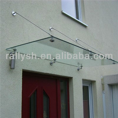 Stainless Steel Glass Canopy