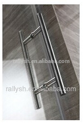BACK-TO-BACK GLASS DOOR HANDLE