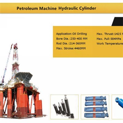 Hydraulic Cylinder For Petroleum Machine