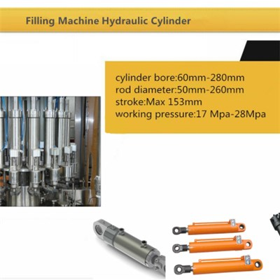 Hydraulic Cylinder For Filling Machine
