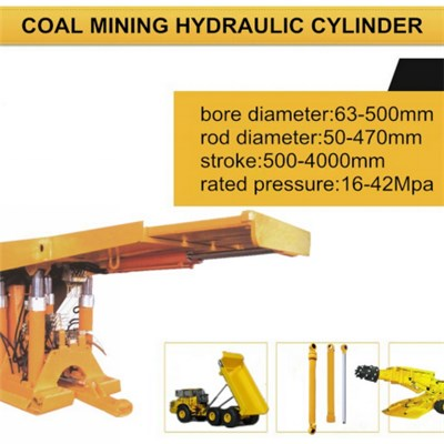 Hydraulic Cylinder For Coal Mining