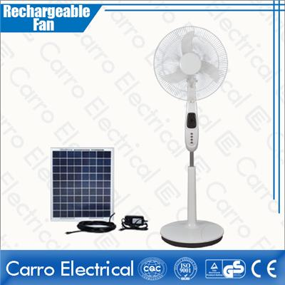 Stand Battery LED Fan