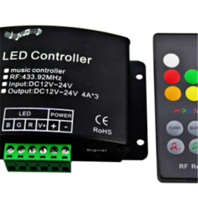 Music LED RGB Controller
