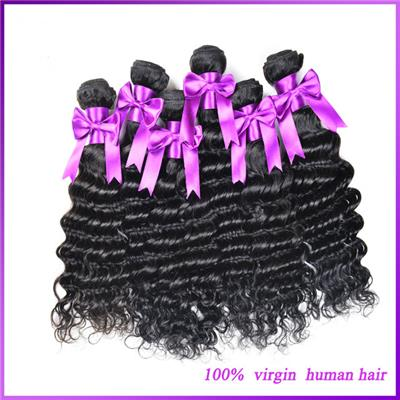 Malaysia Human Hair Extension Deep Wave