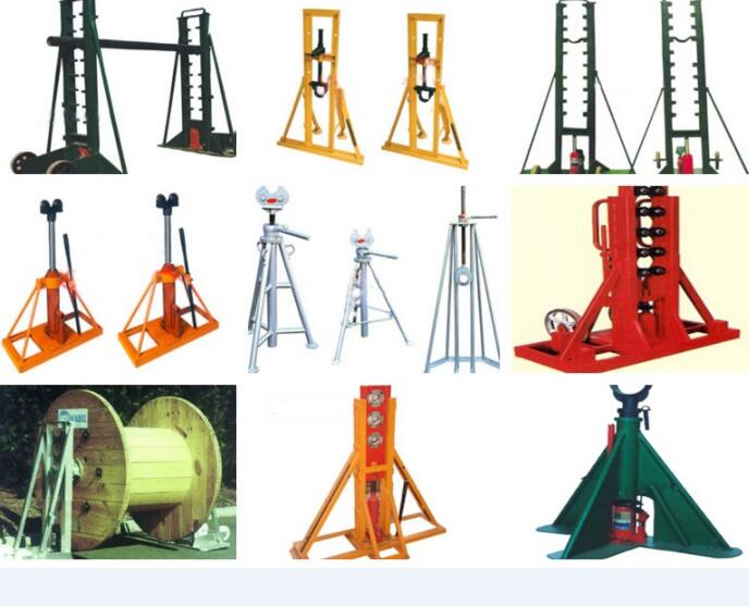 Cable Drum Rotators 6tons made in China Braked Drum Stand