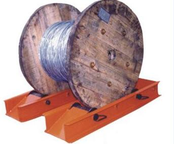 Manufacture cable laying drum roller Cable drum jack