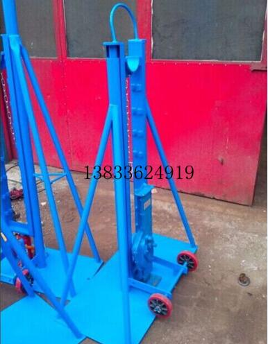 cable drum jacks with stepped construction