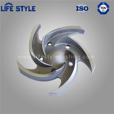 Investment Casting Stainless Steel Impeller